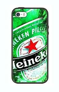 Case Schutzrahmen hülse Bier Heineken Br3 Abdeckung für Iphone 6 Plus Border Gummi Silikon Tasche Schwarz @pattayamart