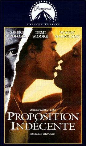 Ein unmoralisches Angebot [VHS]