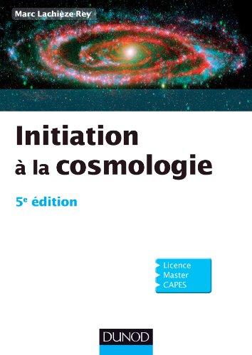 Initiation  la cosmologie