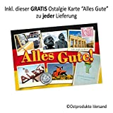 DDR Adventskalender mit Spezialitäten aus dem Osten - 2