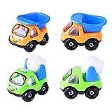 Homeofying Mini simulation d'ingénierie de voiture camion modèle jouet cadeau de Noël pour enfant garçon fille