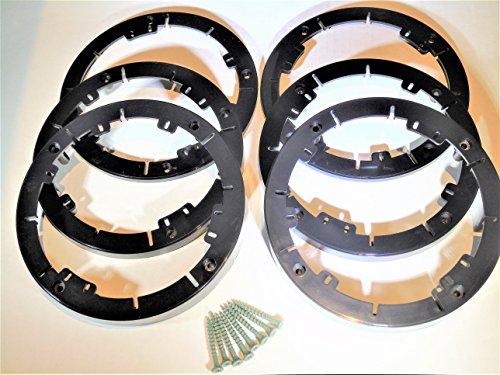 6er Pack Universal Case 6er Pack 6er Pack 6 1/2 6 6 3/4 6.75 Zoll Lautsprecher Tiefenverlängerer Spacer mit Schrauben