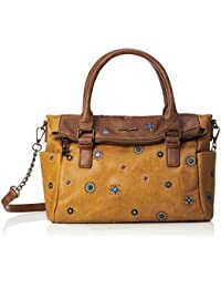 Desigual Julietta Loverty Hand Bag Camel