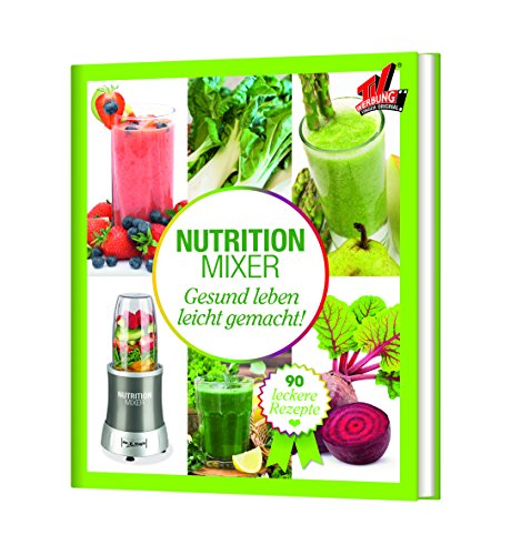 Preisvergleich Produktbild TV Unser Original 05810 Mr Magic Nutrition Mixer Rezeptbuch - Natural Superfood Smoothie Buch