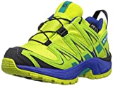 Salomon Unisex-Kinder Xa Pro 3D CSWP K Traillaufschuhe, Grün (Acid Lime/Surf The Web/Tropical Gre 000), 29 EU