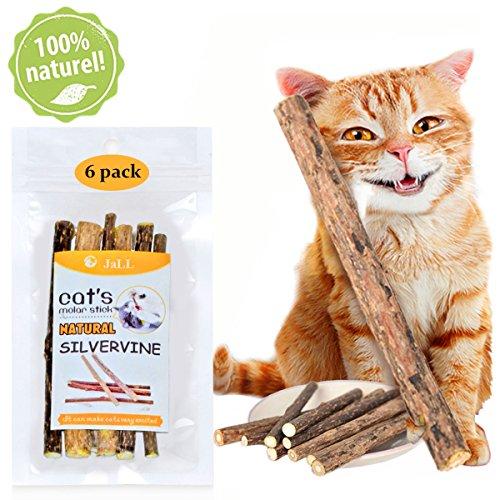 * Gatta Erba Bastoncini Catnip Naturale Gioco Gatto 6pcs Gattina Dentini Masticare Bastoncino – love99 prezzo