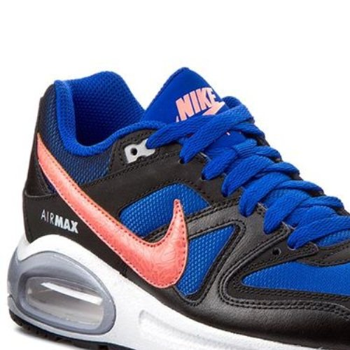 Nike Air Max Command (Gs) Jungen Low-Top GAME ROYAL/HT LV-BLC