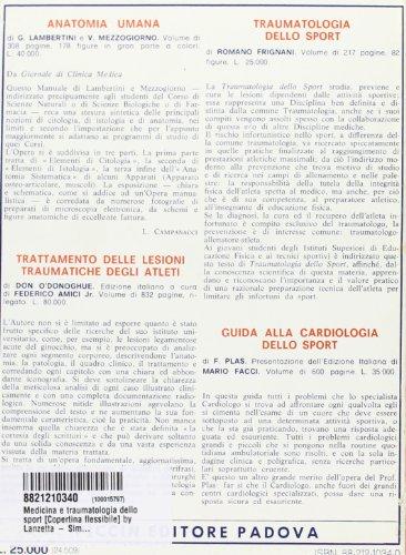 Zoom IMG-1 medicina e traumatologia dello sport