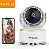 Mibao 1080P Telecamera Sorveglianza Wifi Camera IP Wireless Interno con Visione Notturna, Rilevamento Movimento, Allarme via Email, Pet/Elderly/Baby Monitor, Compatibile con iOS e Android e PC
