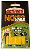 UniBond No More Nails Abnehmbare Klebestreifen, halten bis zu 2kg pro Streifen, 5Stück