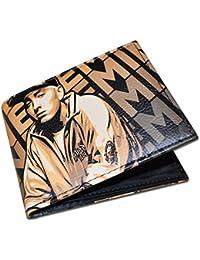 Cartera Hip Hop / Rap Eminem Slim Shady para Hombres y Mujeres (Gold Wallet)