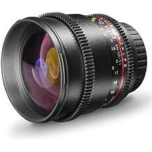Walimex Pro 19450 - Objetivo de foto y vídeo para montura Nikon (85mm, f/1,5)