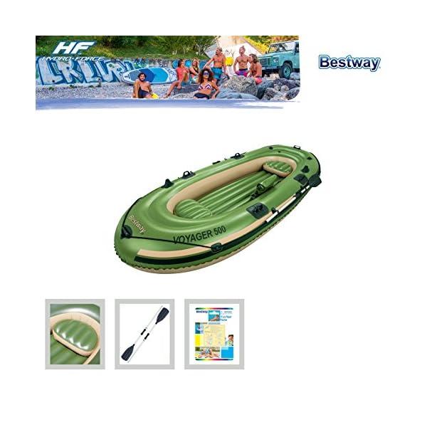 Bestway Voyager 500 Inflatable Raft/Boat