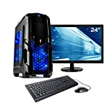 Sedatech Ultimate Gaming PC Komplett-Paket Intel i7-8700K 6x 3.70GHz, Geforce RTX 2080 8Gb, 32 GB RAM DDR4, 480 GB SSD, 2 TB HDD, USB 3.1, Wlan, Kartenleser, HDMI 2.0. Rechner & 23.6