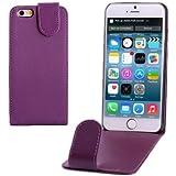 Flip Case Handy-Hülle zu Apple iPhone 6 in lila Schutzhülle