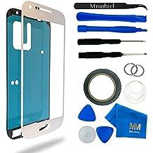 Kit de Reemplazo de Pantalla Táctil para Samsung Galaxy S4 MINI i9195 i9190 Blanco Incluye Pinzas / Cinta adhesiva 2 mm / Kit de Herramientas / Limpiador de Microfibra / Alambre Metálico / Manual de Instrucciones MMOBIEL
