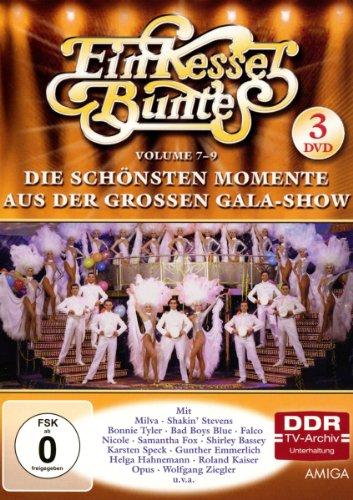 Die schönsten Momente aus der großen Gala-Show, Vol. 7-9 (DDR TV-Archiv) (3 DVDs)
