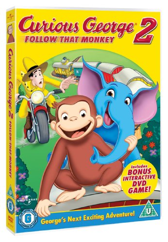 Image of Curious George  - Follow That Monkey [DVD]