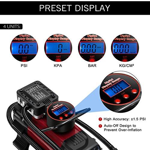 Compressore per auto omorc pompa ad aria compressore - Kit misuratore di pressione e portata idranti prezzo ...