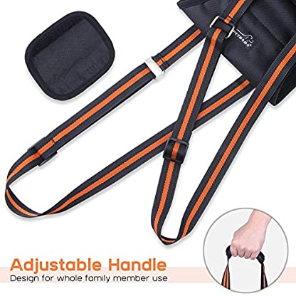 PETBABA Dog Lifting Harness, Lift Support Sling to Help Pet with Weak Back Leg, Aid Mobility and Rehabilitation… 5