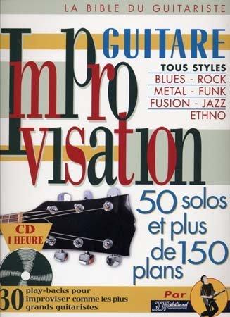 Improvisation Guitare Tablatures + CD