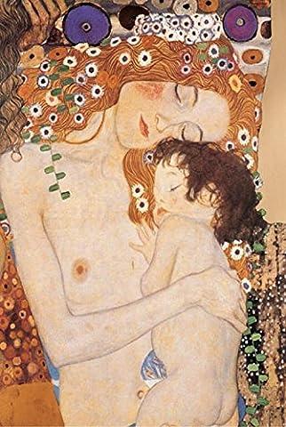 Gustav Klimt – Mother And Child Fine Art Print (60.96
