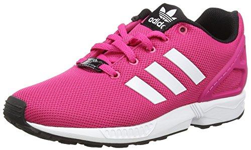 adidas ZX Flux, Unisex Kids' Running Shoes, Pink (Eqt Pink S16/Ftwr White/Core Black), 4.5 UK (37.5 EU)