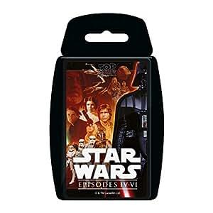 Star Wars 4-6 Top Trumps Card Game