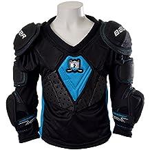 Bauer Prodigy de serie para Kids de hombros y–Coderas para hockey sobre hielo, todo el año, infantil, color negro, tamaño medium