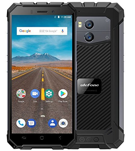 Ulefone Armor X - 5.5'HD (relación 18: 9) IP68 Impermeable Antipolvo Antigolpes 4G Android 8.1 Smartphone, 5500mAh...