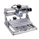 MISSICEE 3018 CNC Router, CNC DIY maschine, Arbeitsbereich: 300 * 180 * 45mm, CNC Fräsmaschine 3 Achsen Mini Holz PCB Acryl Fräsmaschine Metall Gravur Carving Maschine