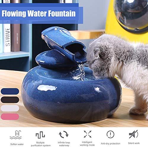 Pet Fountain - Kleine automatische Wassertrinkerzufuhr für Hundekatze, Wasserspender für Katzen Frisches, sauberes Wasser Sehr leise, genießen Sie die Wasserzufuhr mit dem automatischen Brunnen