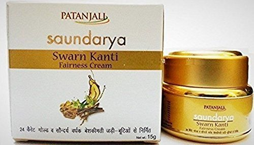 Patanjali Saundarya - Swarn Kanti Fairness Cream - Visible Fairnes Ayurveda 15gm