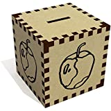 'Angebissenen Apfel' Sparbüchse / Spardose (MB00063133)