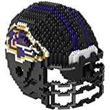 Baltimore Ravens NFL Football Team 3D BRXLZ Helm Helmet Puzzle