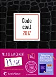 Code civil 2017 - Jaquette graphik croco: Version Ebook incluse.