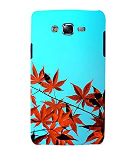 printtech Nature View Leaves Back Case Cover for Samsung Galaxy J7 / Samsung Galaxy J7 J700F