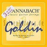 Hannabach 7258 MHT GOLDIN 3-Treble Set