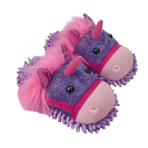 Aroma Home Shoes Aroma Home Fuzzy Friends Unicorn Slippers One Size (fits ladies up to UK 7) Multi