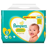 Pampers Premium Protection Größe 3, 80 Jumbo Pack