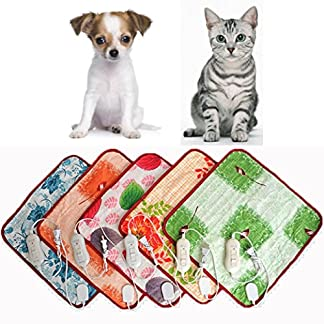 40 * 60cm Pet Warm Electric Heat Heated Heating Heater Pad Mat Blanket Bed Dog Cat 5140ZWiH5ZL
