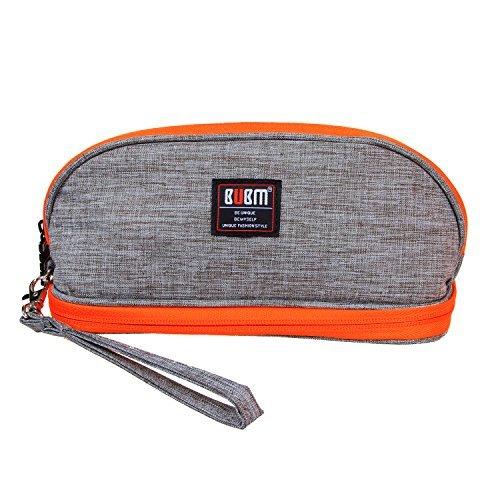 BUBM Sac de Maquillage Portable pour Femmes / Sacoche de Transport Cosmétique Kit de Toilette avec Poignée