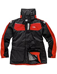 Gill 2016 Mens Coast Jacket Graphite/Red IN12J