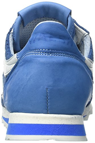 Walsh Deluxe, Chaussures de Basketball homme Blu (Azure Suede)
