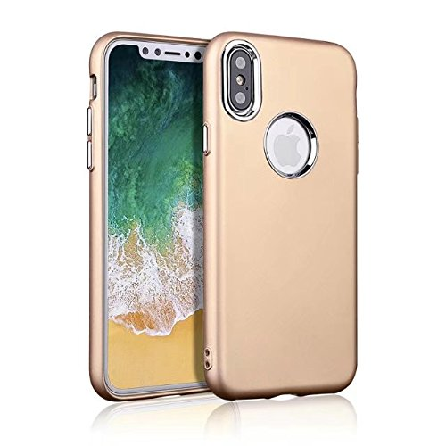 METAL KEY SOFT TPU MOBILE CASE FOR APPLE IPHONE X GOLD GOLD