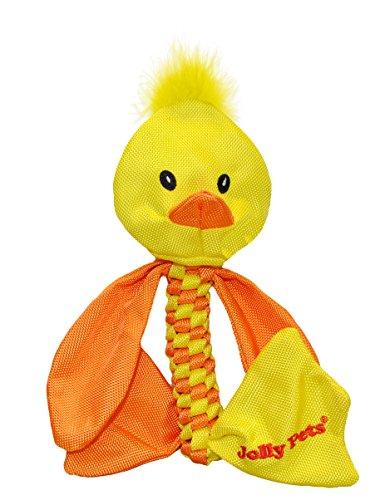 Jolly Pets Ente Tier-Tug/Quietschen Spielzeug -
