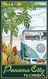 Northwest Art Mall ed-5863STH Panama City Florida Truck Hula Print von Künstler Evelyn Jenkins Drew, 27,9x 43,2cm