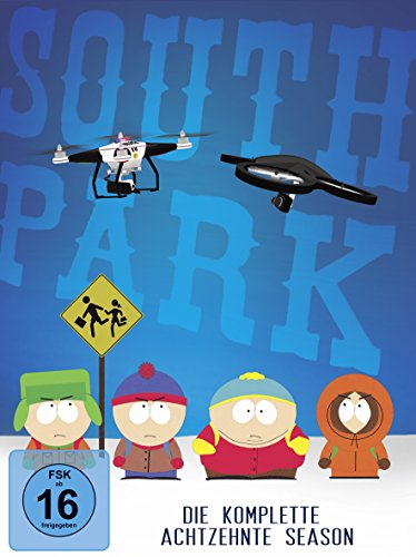 South Park: Die komplette achtzehnte Season [2 DVDs]
