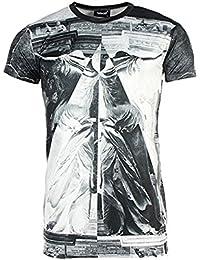 Cabaneli - Tee Shirt Homme Oversize