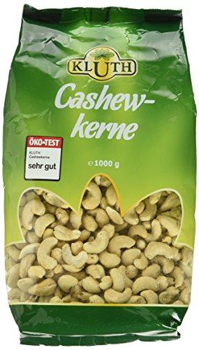 Preisvergleich Produktbild Kluth Cashewkerne 1000g,  1er Pack (1 x 1 kg)